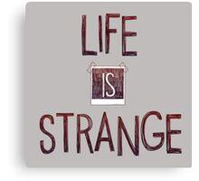 Life Is Strange Logo (2) Canvas Print