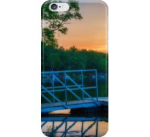Sunset at Kearney Lake iPhone Case/Skin