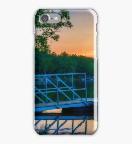 Sunset at Kearney Lake iPhone Case/Skin