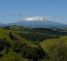 Mt. Ruapehu - Tongariro National Park. NZ by kalwhite