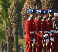 Moroccan royal guard by DKphotoart