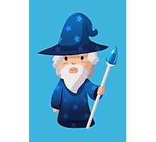 Cute Little Wizard Photographic Print