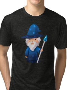Cute Little Wizard Tri-blend T-Shirt