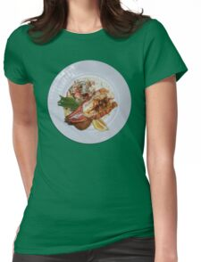 Lobster Dinner Womens Fitted T-Shirt