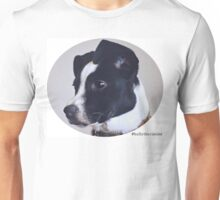Holly the canine portrait Unisex T-Shirt