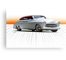 1950 Mercury 'Kustom' Convertible Metal Print