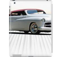 1950 Mercury 'Kustom' Convertible iPad Case/Skin