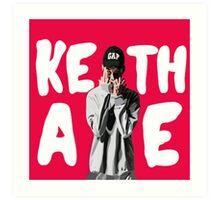 Keith Ape  Art Print
