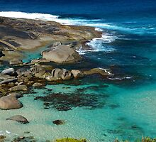 Rock Pools at Lowlands Beach, WA by BigAndRed