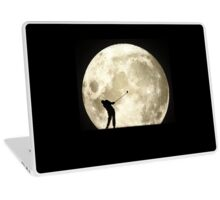 Golfing At Night Laptop Skin