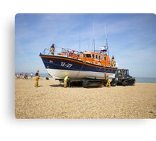 Dungeness Lifeboat Canvas Print