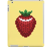 8-bit Strawberry iPad Case/Skin