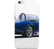 1966 Shelby Cobra Replica 'The Road Ahead' iPhone Case/Skin