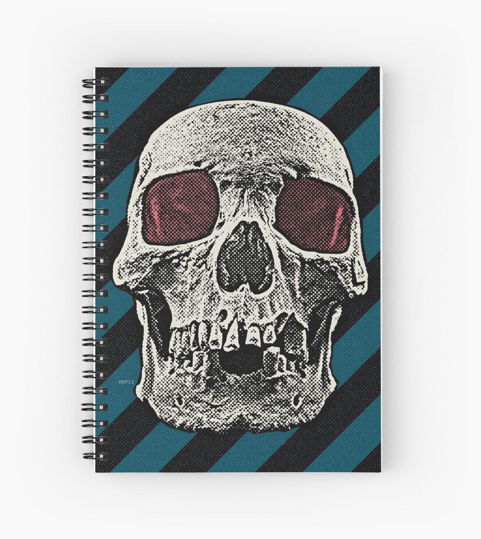 Vintage Skull by Phil Perkins