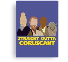 Straight Outta Coruscant Canvas Print