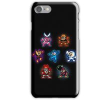 Megaman 1 Robots iPhone Case/Skin