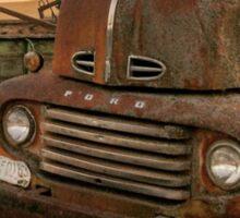 Rusty ol' farm truck  Sticker