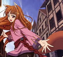 Ookami to Koushinryou - Spice and Wolf - Holo  by frictionqt