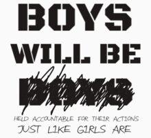 Boys will not be boys by linnlag