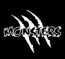 MONSTERS logo Black by Monsters Dubstep