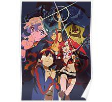 gurren lagann simon yoko kamina nia viral anime manga shirt Poster