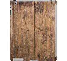 Old wooden planks iPad Case/Skin