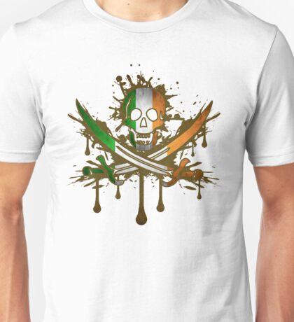 Ireland Jolly Rogger Unisex T-Shirt