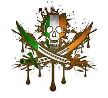Ireland Jolly Rogger by WondraBox
