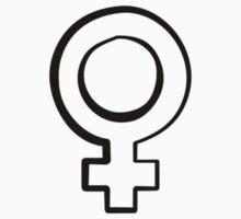 Venus symbol - feminism  by linnlag