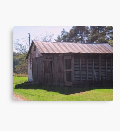 An Old Shed Canvas Print