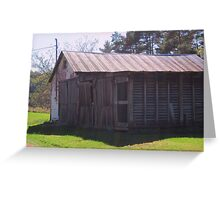 An Old Shed Greeting Card