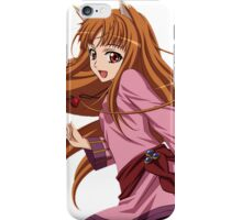 Ookami to Koushinryou - Spice and Wolf - Holo - TRANSPARENT (CUT RENDER) iPhone Case/Skin