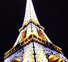 Eiffel Tower From Below by ninadangelo