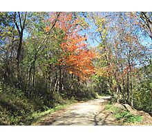 Country Roads, Take Me Home Photographic Print