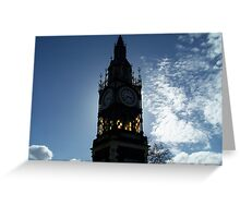 what time? Greeting Card