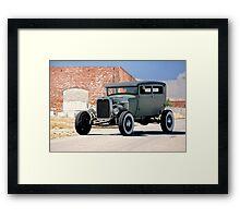 1928 Ford 'Really Really High' HiBoy Sedan Framed Print