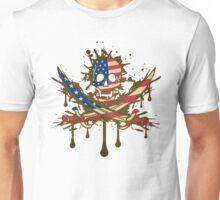 America Jolly Rogger Unisex T-Shirt