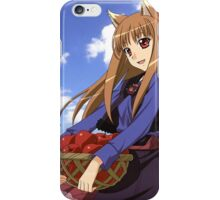 Ookami to Koushinryou - Spice and Wolf - Holo - Cleaned DVD 4 iPhone Case/Skin