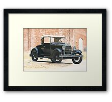 1928 Ford Model A 'Rumble Seat' Roadster Framed Print