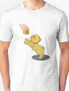 Snooze Poop Dog - anything for a custard cream T-Shirt