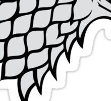 House Stark sigil Sticker