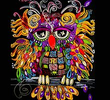 Owlsa the Colorful Owl by Teri Newberry