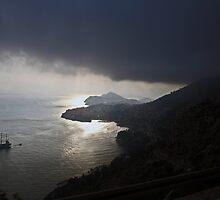 Ghostly Galleon of Dubrovnik by ninadangelo