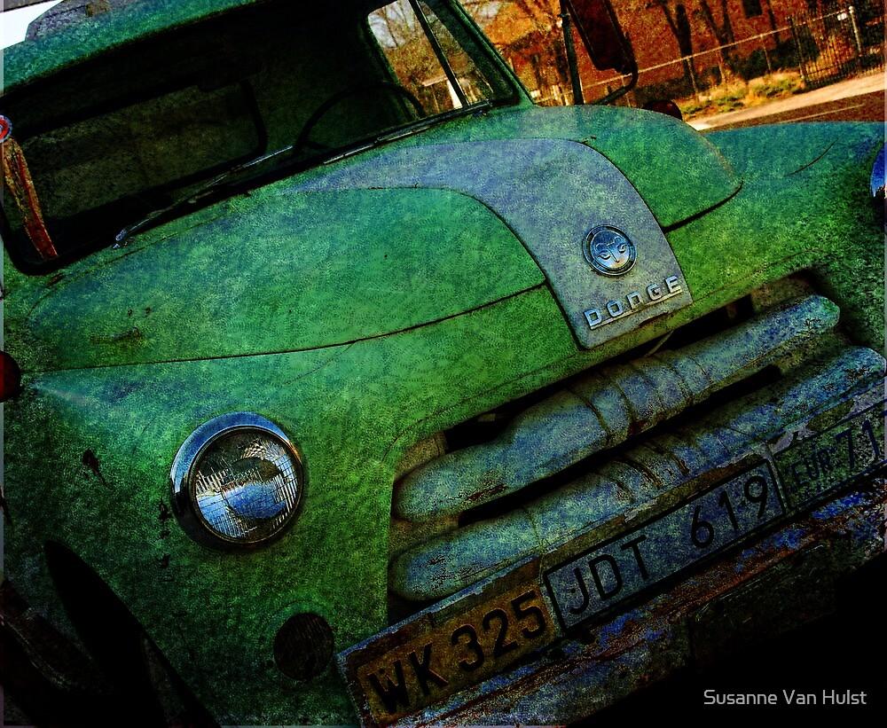 Route 66 Old Dodge by Susanne Van Hulst