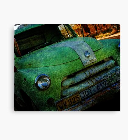 Route 66 Old Dodge Canvas Print
