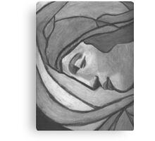 Madonna of Humility Canvas Print