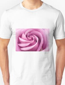 Pink Rose Folded To Perfection T-Shirt
