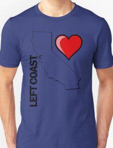 I LOVE LEFT COAST T-Shirt
