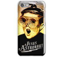 JESUS ASTRONAUT BEER GOGGLES iPhone Case/Skin