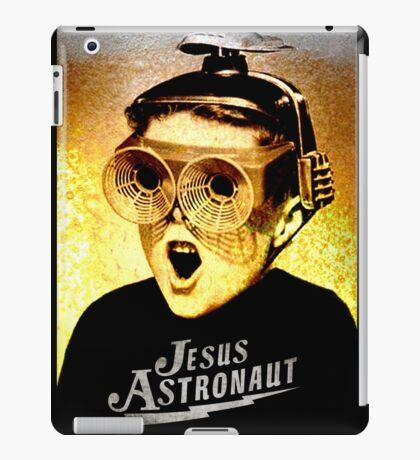 JESUS ASTRONAUT BEER GOGGLES iPad Case/Skin
